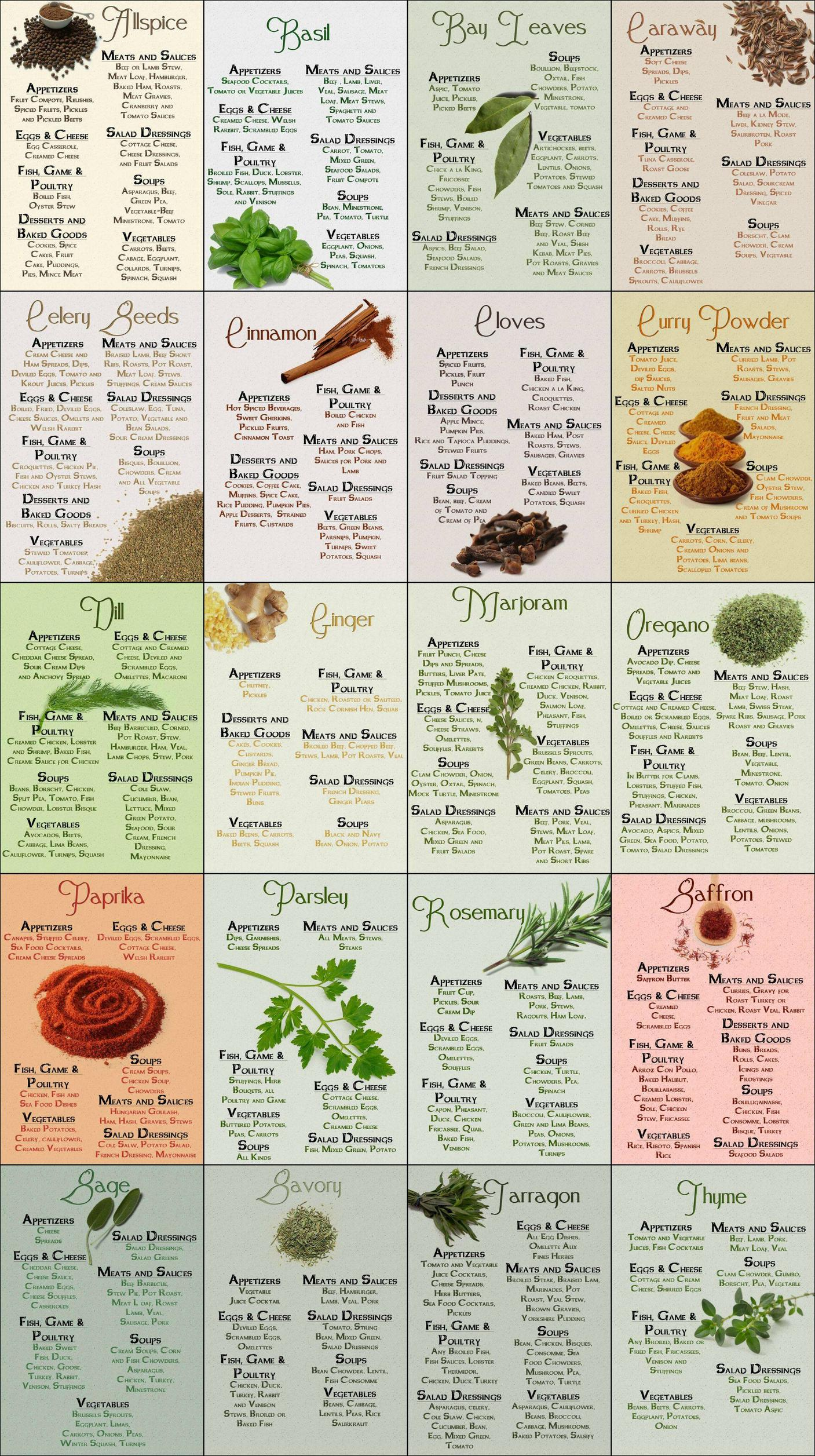 what_spices_to_use_for_everything